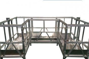 uテープを使用した高強度の懸垂作業プラットフォーム