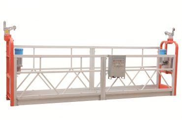 zlp630塗装スチールファサード吊り下げ作業プラットフォーム