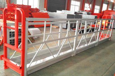 2セクション500kg 3種類のカウンターウェイトを使用した吊り下げ式作業台