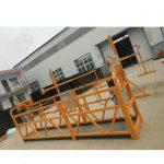 zlpシリーズ鋼またはアルミ吊りローププラットフォーム
