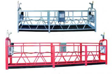 zlp 630ロープサスペンションプラットフォーム空中作業スイングステージ足場プラスチックスプレー塗装