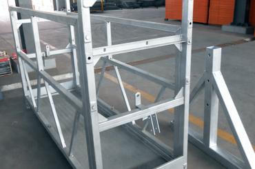 高安全ロープ中断プラットフォームエレベーター設置プラットフォームzlp630 zlp800 zlp1000