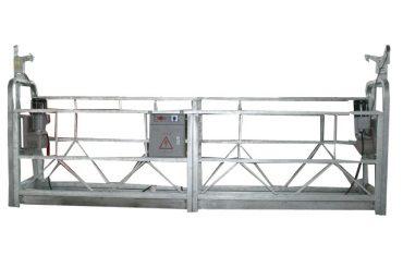 定格容量500kgの可動式安全ロープ懸架プラットフォームzlp500