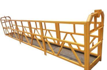 吊り下げ式ワイヤーローププラットホーム窓洗浄装置(1)
