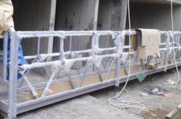 高安全ロープ懸架プラットフォーム浮上高300m塗装