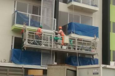 昇降ロープ付き建設メンテナンスロープltd8.0 zlp800
